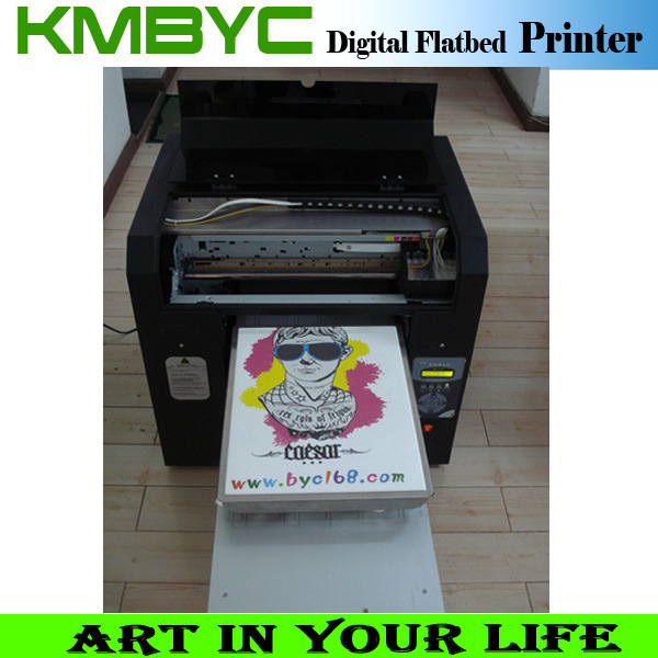 A3 Size Economical 6 Color Fabric Printing Machine