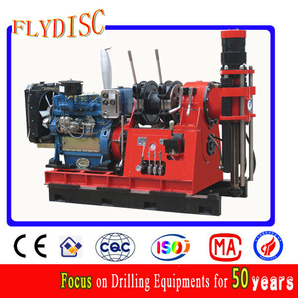 Hgy-650 Core Sample Drilling Rig for Soil/Rock Survey and Mining Exploration