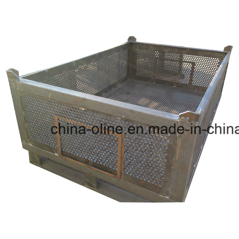 Steel Top Open Wire Mesh Basket