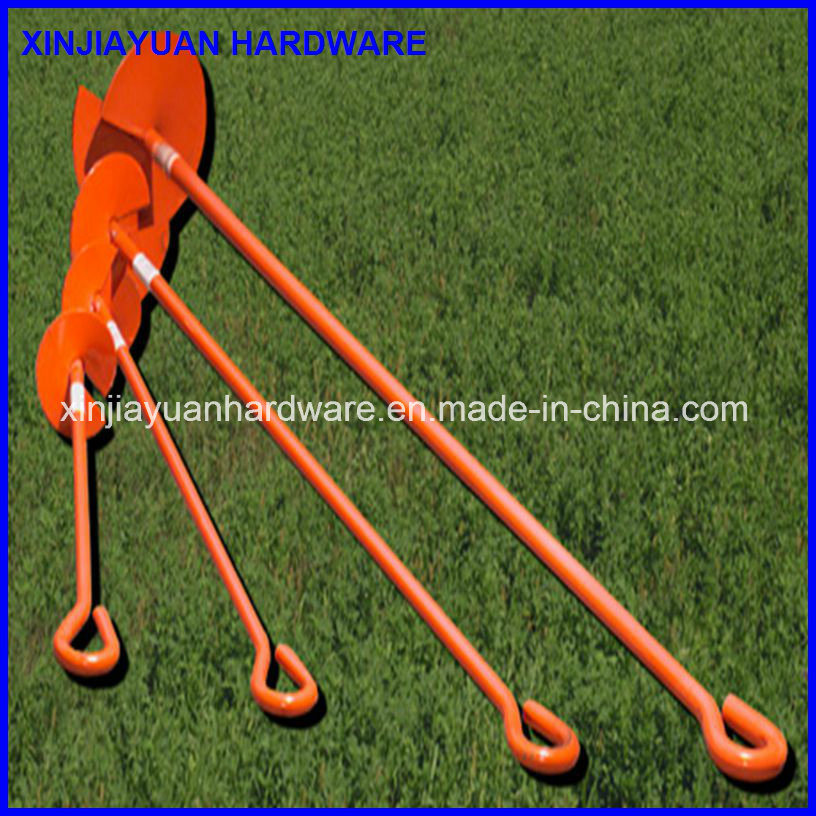 Helix Power Coated Earth Anchor Ground Anchor