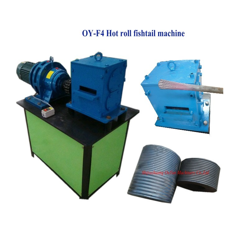 Fishtail Shaped Forming Machine End Hot Forging Machine for Flat Iron, Round Steel