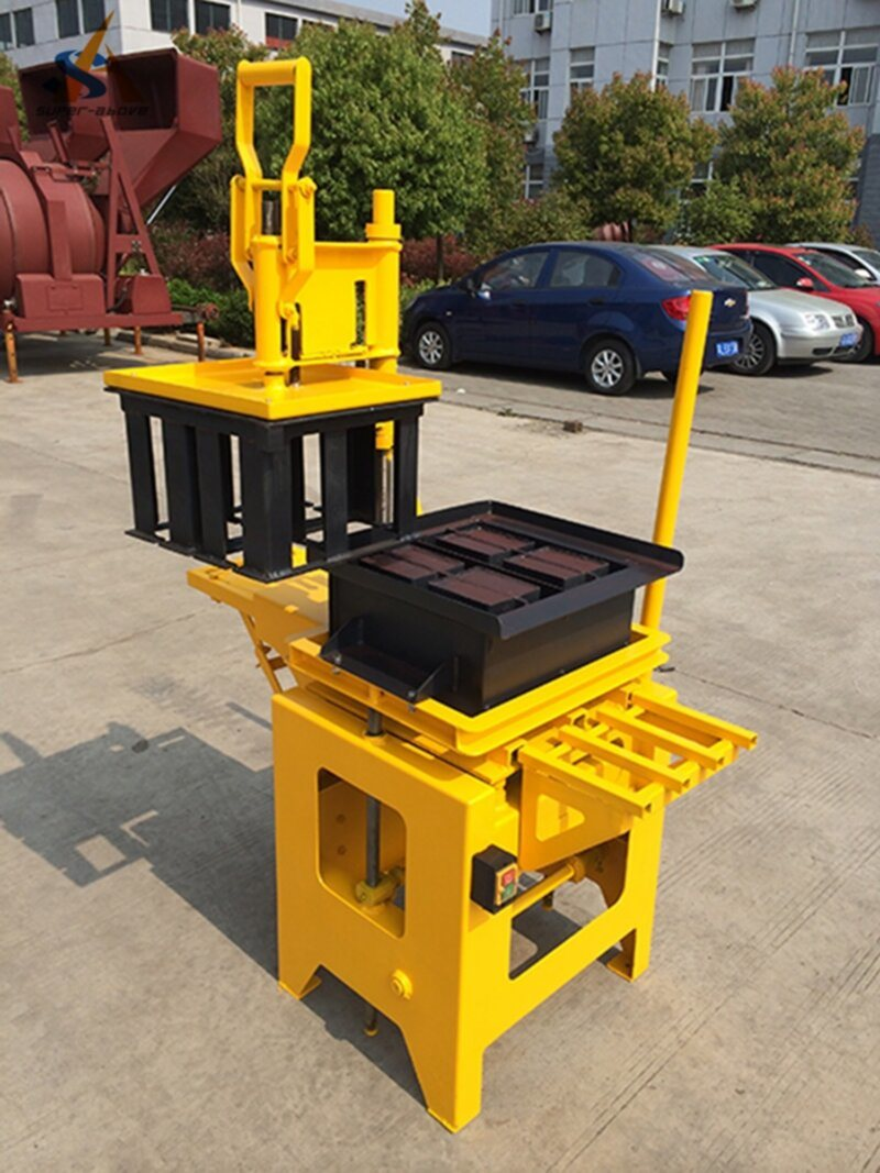 Small Block Making Machine with Electric Engine