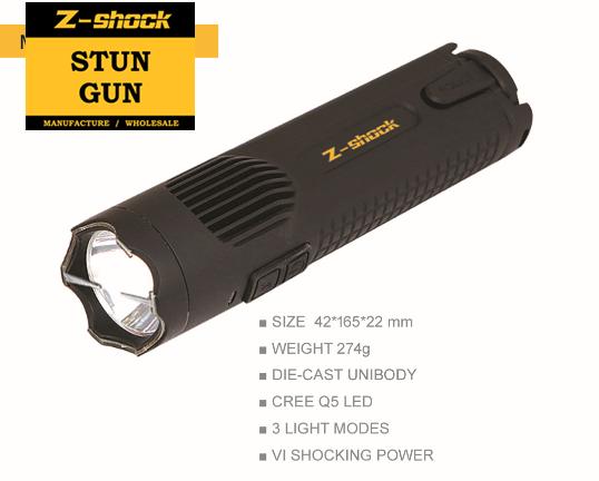 New Patented The Brightest CREE Q5 LED Stun Gun