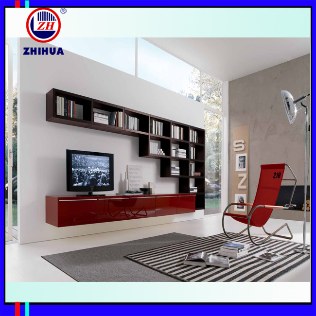 china latest living room furniture mdf tv cabint zh029