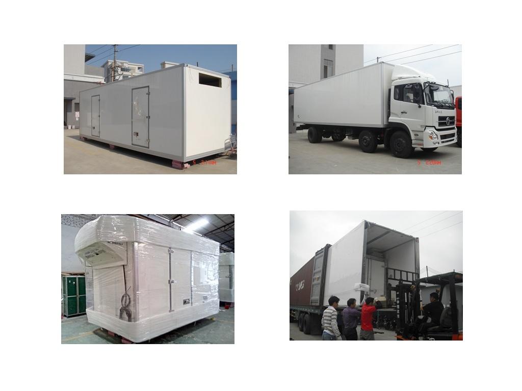 CBU Refrigerated Truck Body
