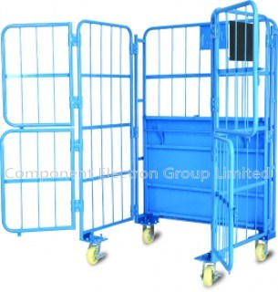 Roll Container, Logistic Cart, Warehouse Cart, Metal Trolley