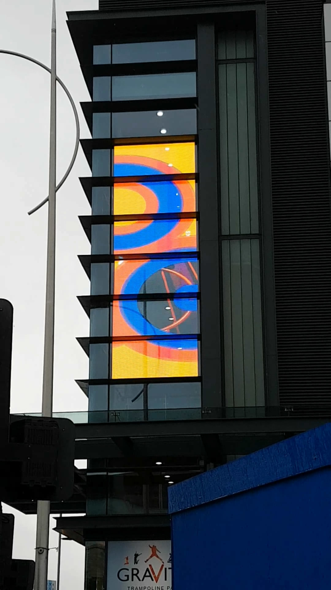 Windows Transparent LED Screen for Building Facade