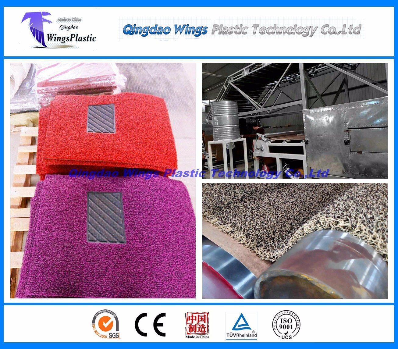 Plastic PVC Coil Cushion Mat Production Line / Extruder Machine / Making Machine / Extruder