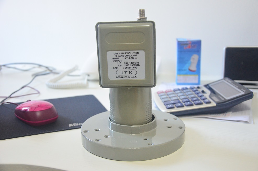 Universal C Band LNB with CE Certification