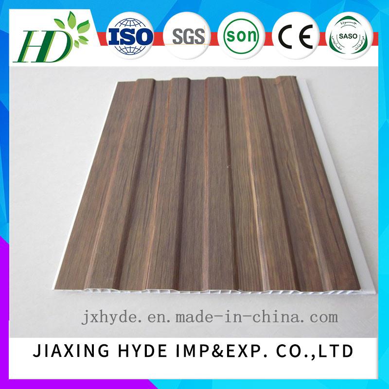 8*250mm China Manufacturer Supply PVC Paneling Lamination Wall Panel
