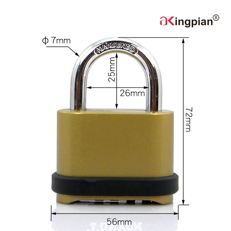 50mm Bottom Code Combination Padlock