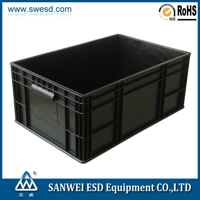 ESD Plastic PCB Circulation Boxes 600*400*150mm
