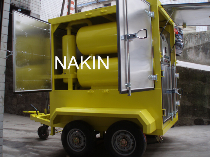 Mobile Insulating Oil Cleaning and Oil Treatment