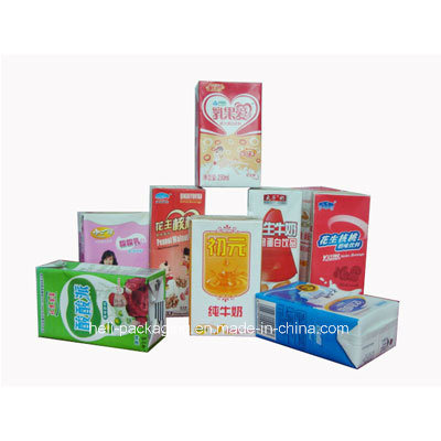 Liquid Foods Packaging Laminated Paper Carton Box