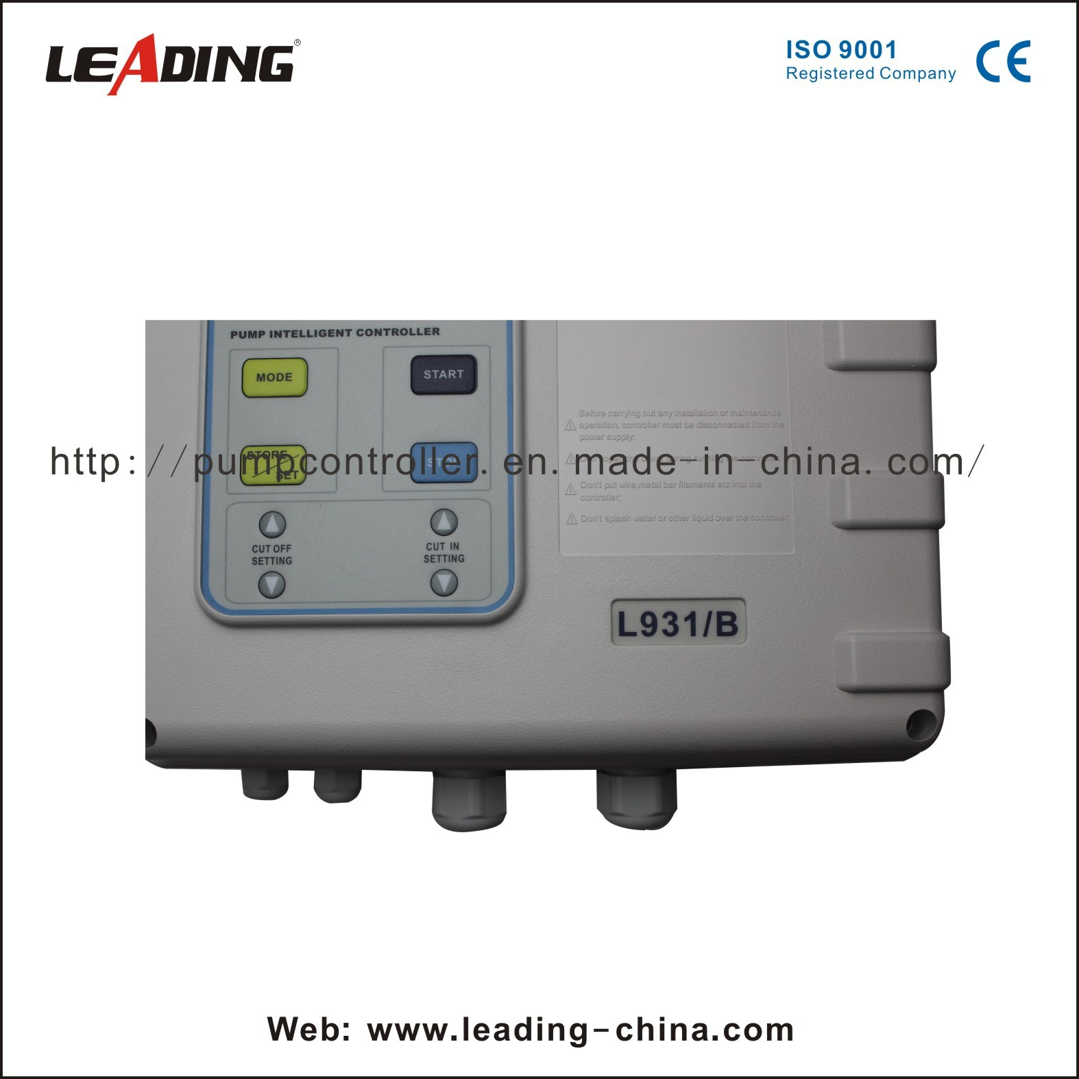 Pressure Boosting Type Pump Control Panel (L931-B)