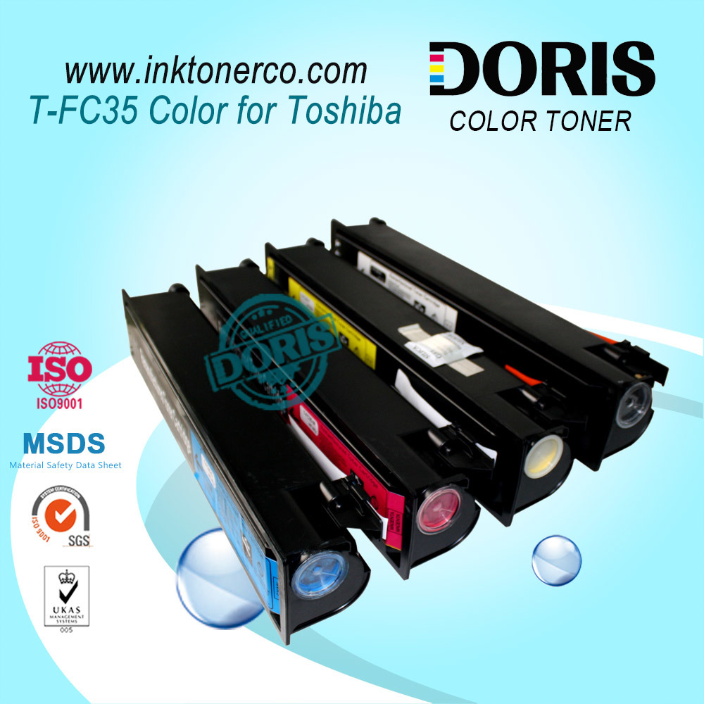Japan Magenta Color Copier Toner Tfc35 T-FC35 E Studio 2500c 3500c 3510c for Toshiba