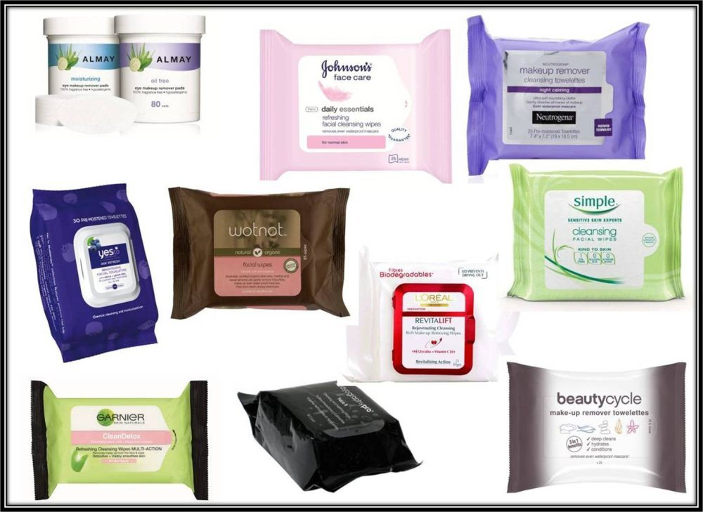25cts Flow Pack Makeup Wipes