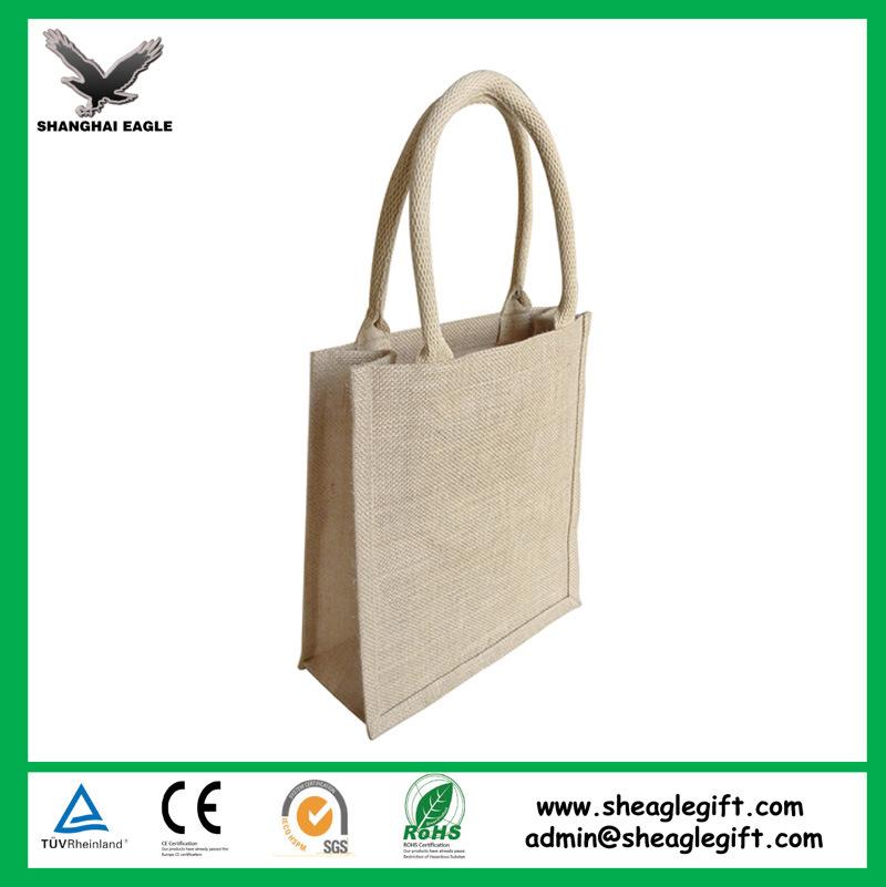 Customized Recycle Promotional Burlap Jute Bag