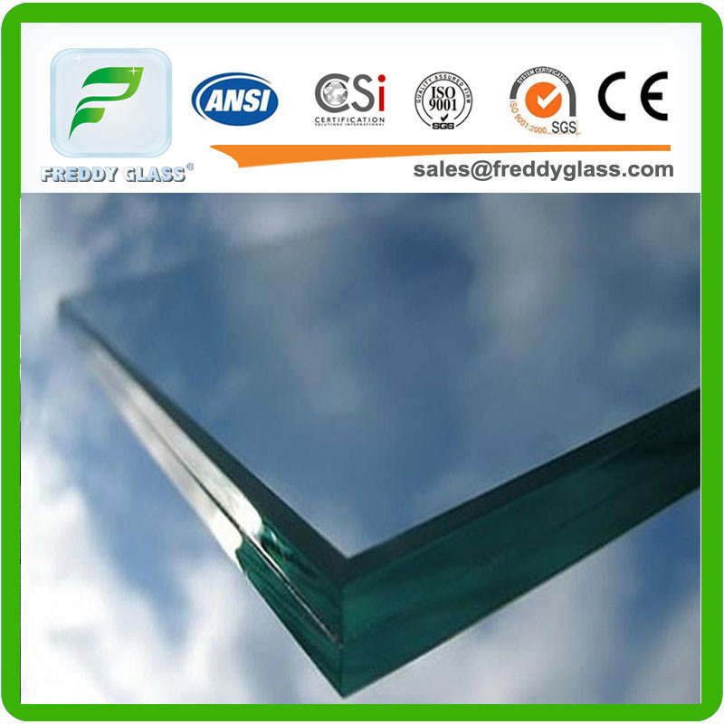 Clear/Milk/White/Clolored Laminated Glass/Tempered Laminated Glass/Tempered Low E Laminated Glass/Colored Toughened Bulletproof Laminated Glass