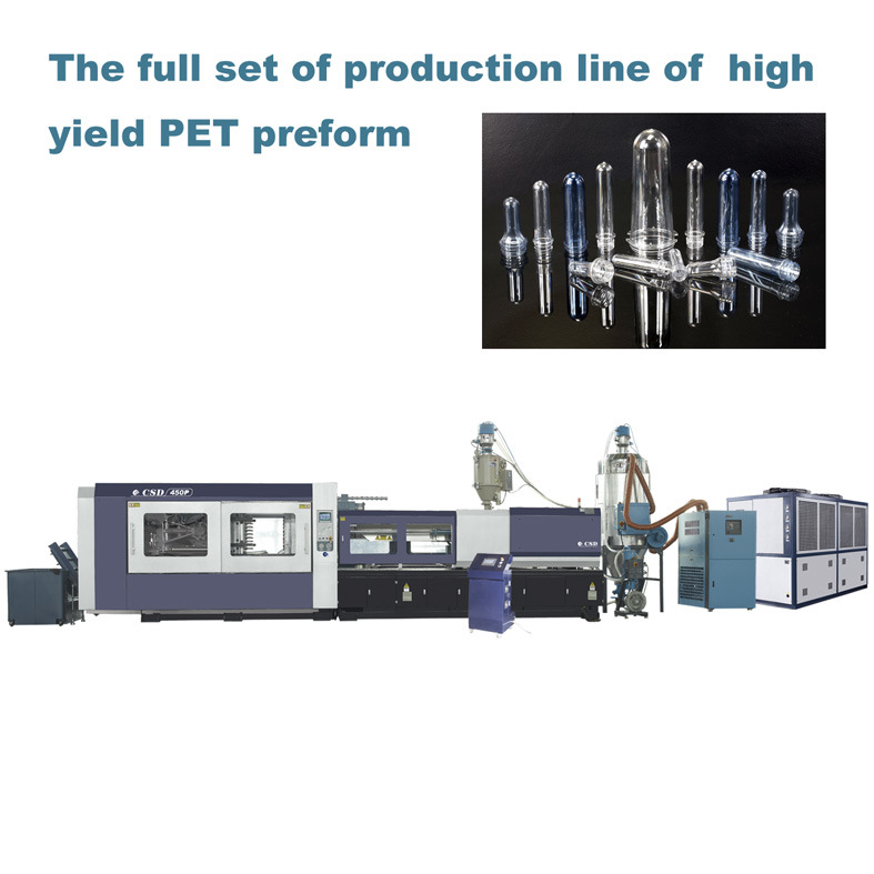 CE Approved With P Series Pet Preform Injection Molding Machine (CSD-240P)