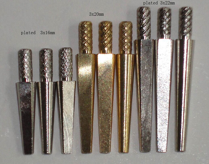 Dental Brass Dental Dowel Pins Single Dowel Pins Dental Use Dowel Pins