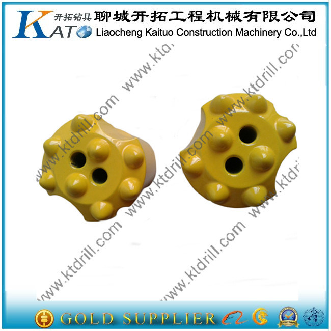 Carbide Tipped Buttons Bits Tapered Rock Drill Bit 7/11/12 Degree