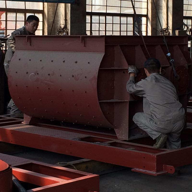 Stable Concrete Mixing Plant Skip Type (HZS50)