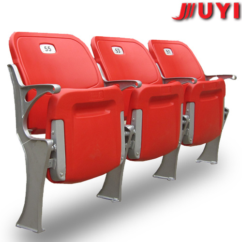 Blm-4671 Blow Moulding Stadium Seats Outdoor Plastic Stadium Seats Plastic Folding Chairs Outdoor Seats Gym Seats Blue Plastic Seats Factory