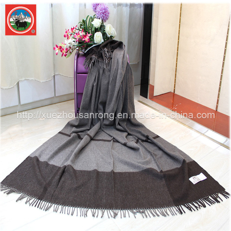 Yak Lattic Blanket/Cashmere Fabric/ Camel Wool Textile/Bed Sheet/Bedding