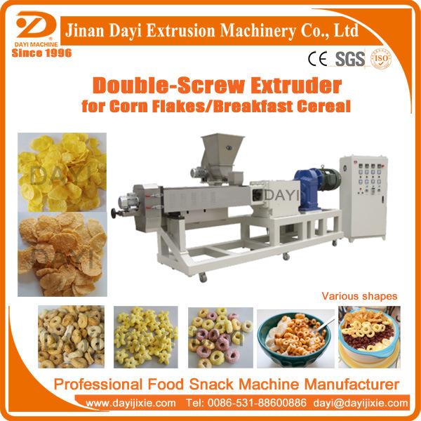 Corn Flakes Breakfast Cereal Machine in 200kg/H