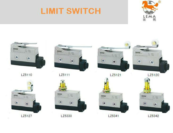 Long Roller Plunger Type Limit Switch Lz5342