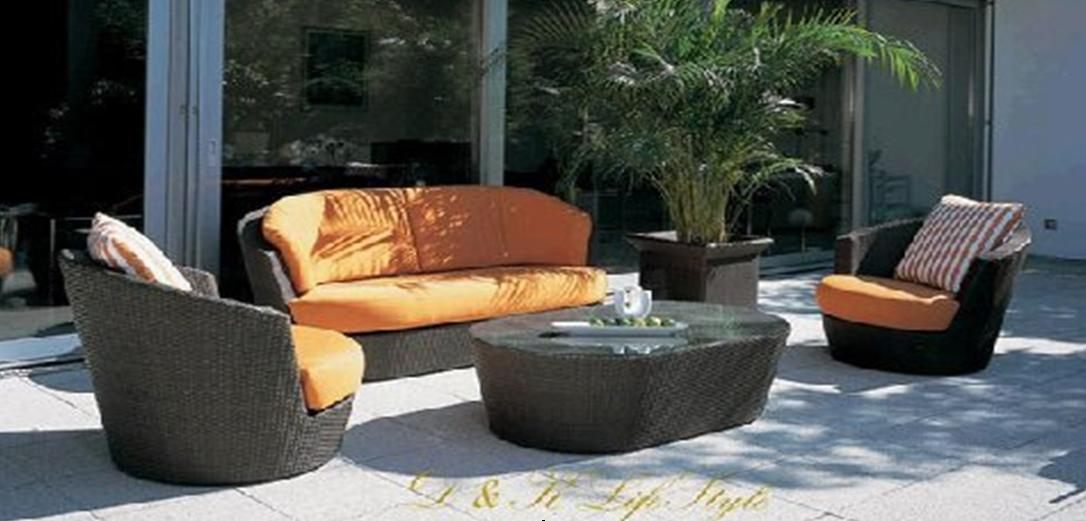 resin wicker furniture sofa set rd 6027 china sofa set wicker