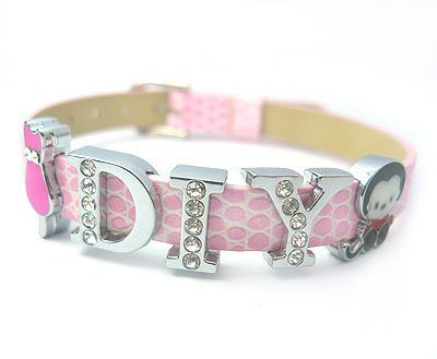 Fashion Crafts on Fashion Diy Initial Letters  Bracelet  Ba Bl 001   Ba Bl 001    China