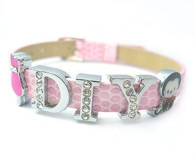 Fashion Crafts on Fashion Diy Initial Letters  Bracelet  Ba Bl 001   Ba Bl 001    China