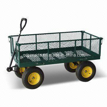 High Quality Steel Meshed Garden Cart (TC4205B)