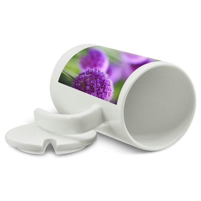 Wholesale Seven Shape Handle Straight Milk Mug Sublimation Mug Blank