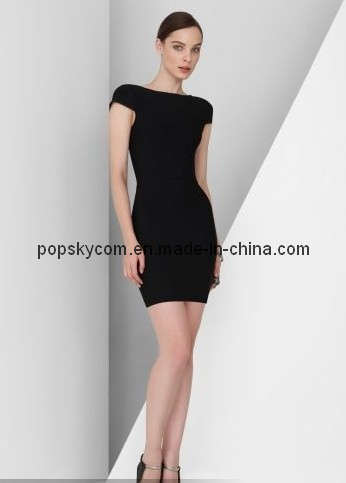 Short Black Dress on Elegant Ladies Short Party Dress   China Evening Dress  Prom Dress