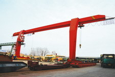 L Base Gantry Crane with Hook