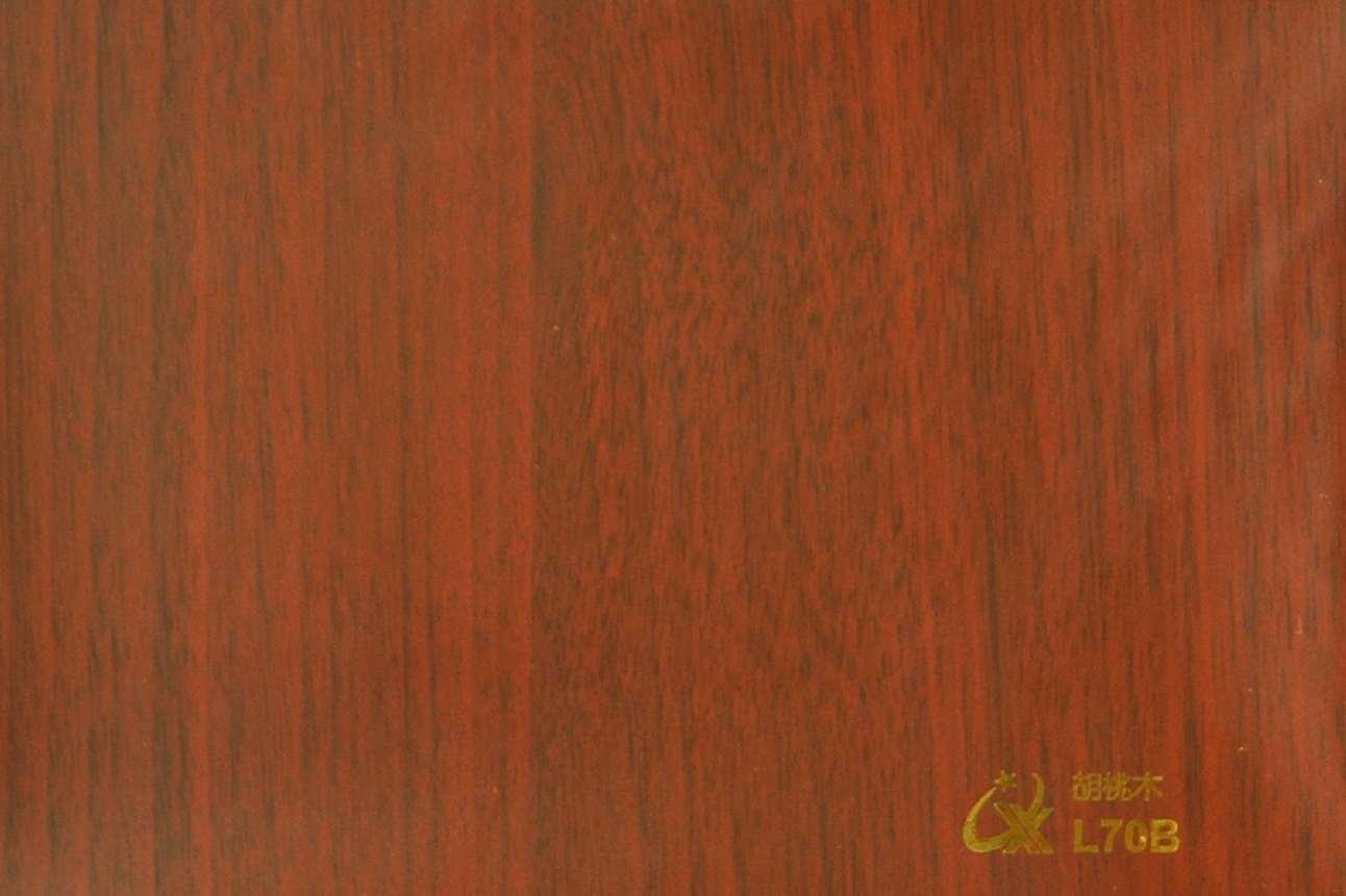 China pvc wood pattern decorative foil l b