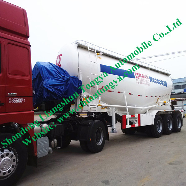 50 Tons Cement Tank Semi Trailer