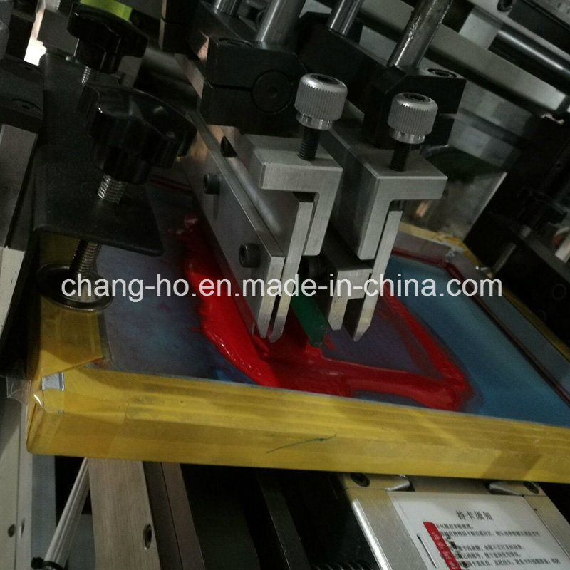 Two Color Automatic Flatbed Screen Printing Machine