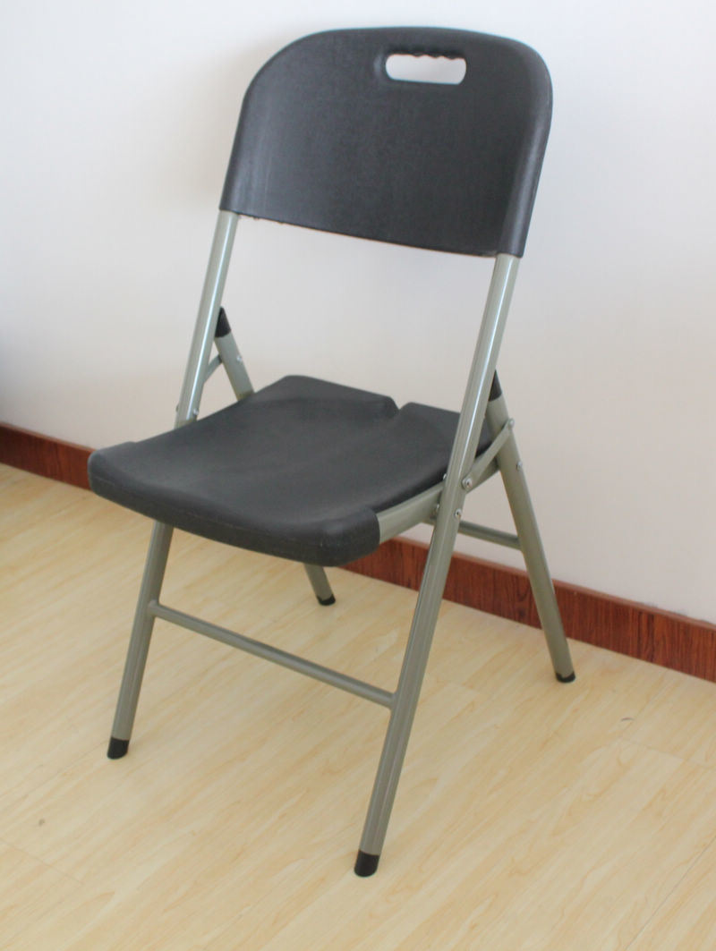 Black Plastic Folding Chair SY 52Y s &