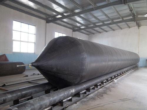 Shipyard Use Inflatable Marine Launching Airbags with High Pressure