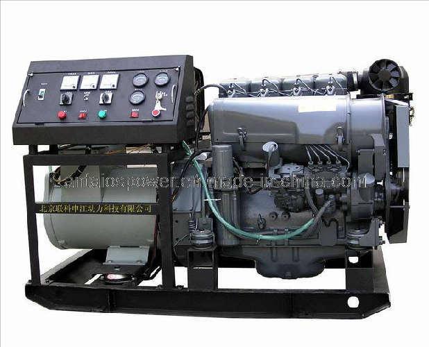 Deutz Generator Set (200kw-550kw, water cooled engine)