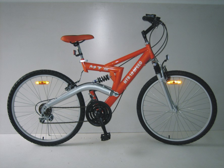 "26"" Steel Frame Mountain Bike (2613)"