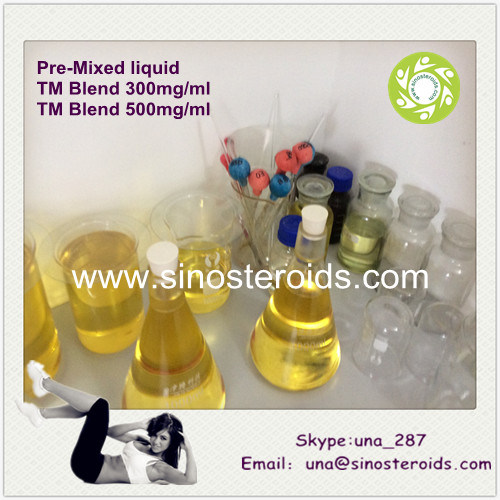 Injectable Anabolic Steroids Pre-Mixed TM Blend 300/500mg/Ml