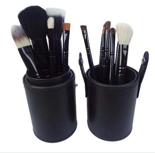 Good Quality Beauty Tool Makeup Cosmetic Brush Set with Cup Holder