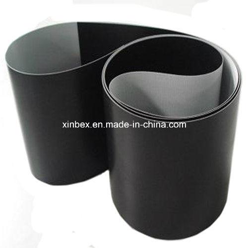 PVC Black Matt Flat Conveyor Belt for Logistic/Counter/Checking/Printing