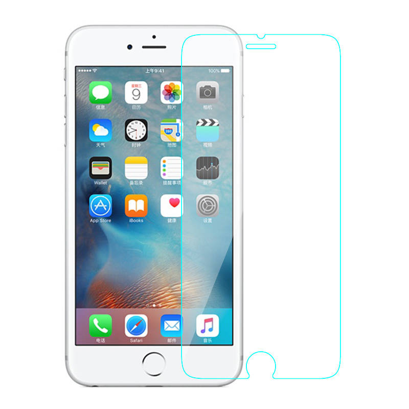 HD Clear 9h 0.33mm Wholesale Glass Screen Protector for iPhone 6