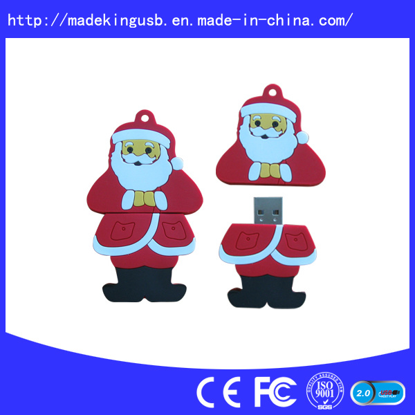 Customized PVC USB Flash Drive for Promotion